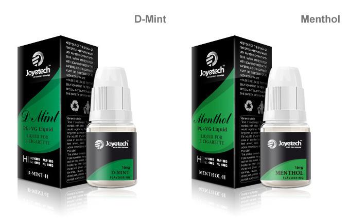Liquid mit Minze Geschmack mit Nikotin und ohne