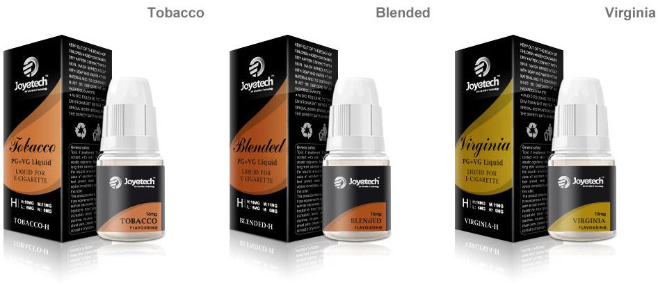 Liquid mit Tabakgeschmack und Nikotin